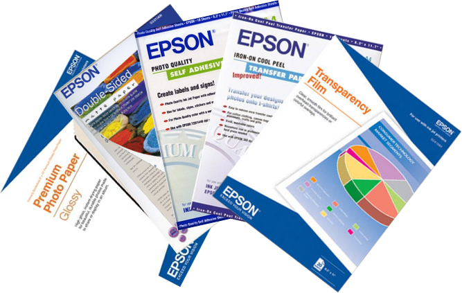 Epson Papers and Consumables